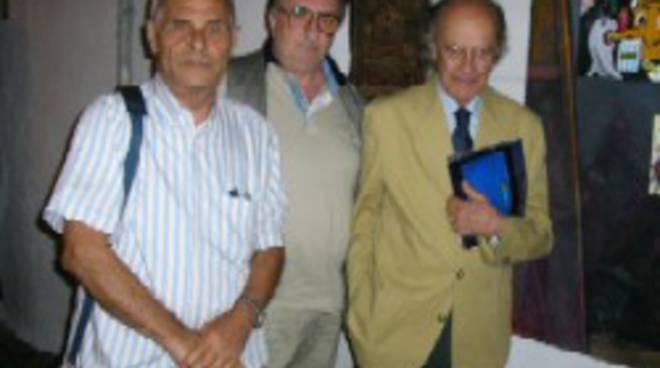 Antonio Fomez Maurizio Vitiello E Ugo Gregoretti In Costiera.jpg. Maurizio  Vitiello ha intervistato il grande ... ede2a52b7cb