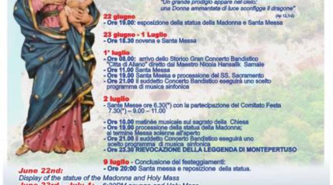 bb029e8d30 Positano, Costiera amalfitana il programma dei festeggiamenti in onore di  Maria Santissima delle Grazie a Montepertuso.