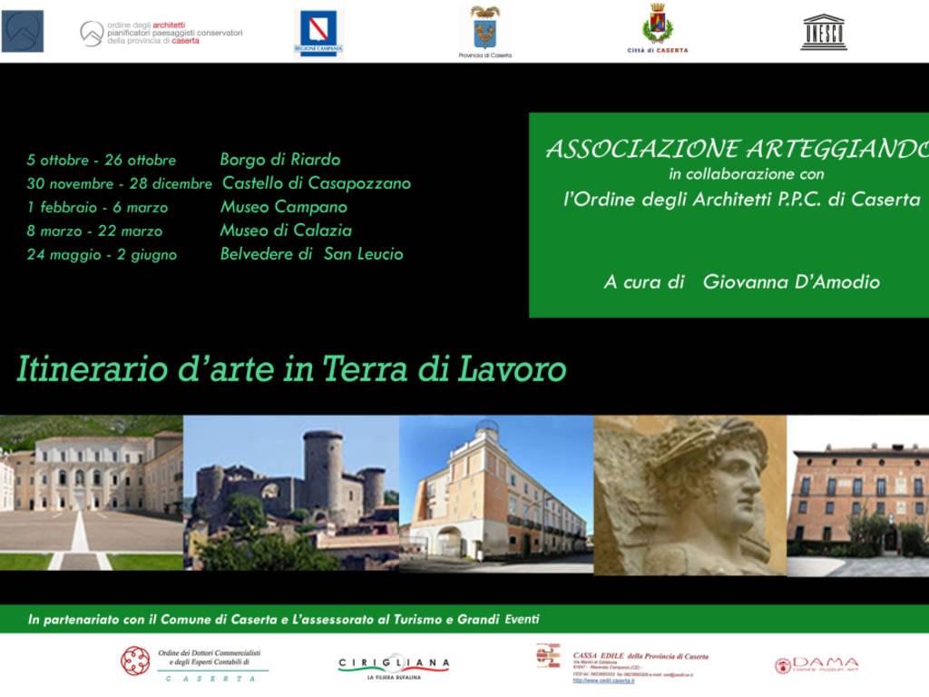 """Ordine Architetti Brescia Lavoro caserta mostre: """" itinerario d'arte in terra di lavoro"""