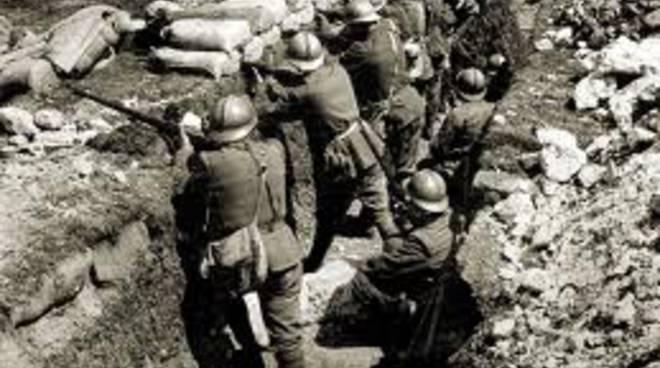 Trincea de La Grande Guerra