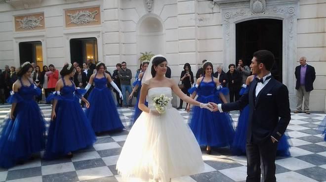 fad115a9c2b1 Sorrento idea Sposi premiata Cecilia Coppola e Lucia e Maria Cilento ...