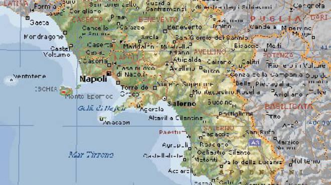 Cartina Fisica Napoli.Nel Cilento Si Parla Si Terremoti In Arrivo Scienziati Da Tutto Il Mondo Positanonews