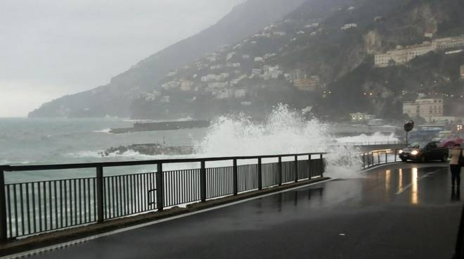 Allerta meteo in Campania: previste piogge e temporali