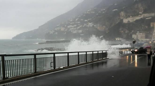 Allerta meteo Costiera amalfitana e Penisola Sorrentina
