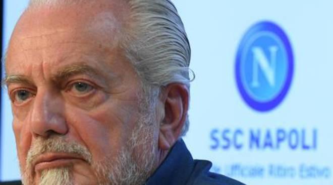 Calcio: conferenza stampa Napoli