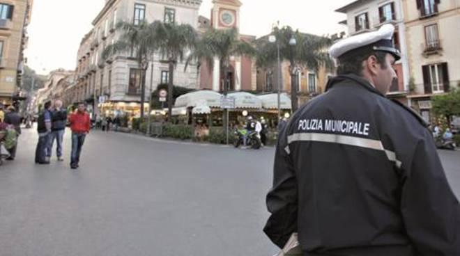 Polizia Municipale a Sorrento