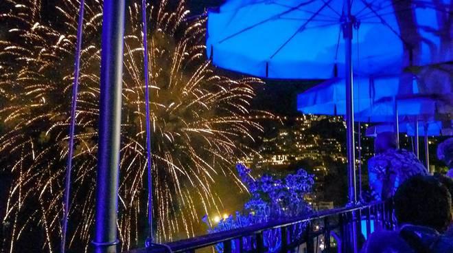 San Vito Positano fuochi d'artificio