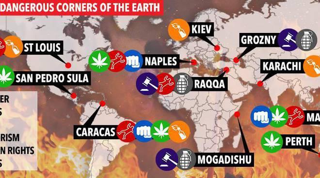 "b137c726ed5474 L ARTICOLO DEL ""THE SUN "" World s most dangerous cities revealed ..."
