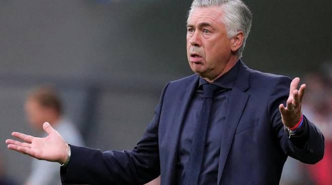 Ancelotti non si presenta alla conferenza stampa di Napoli-Salisburgo