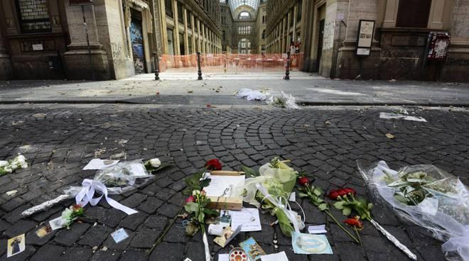 Crollo alla Galleria Umberto e morte di Salvatore Giordano