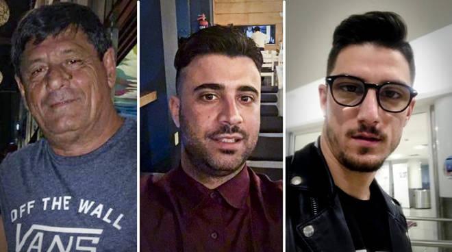 I tre napoletani sequestrati in Messico