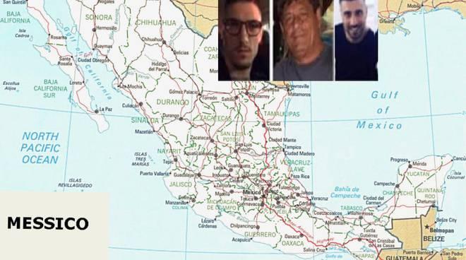 Il giallo dei tre napoletani scomparsi in Messico