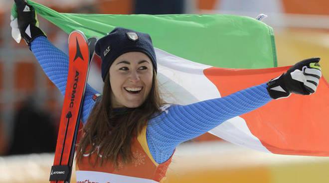 Sofia Goggia vince l'oro nella discesa libera a Pyeongchang