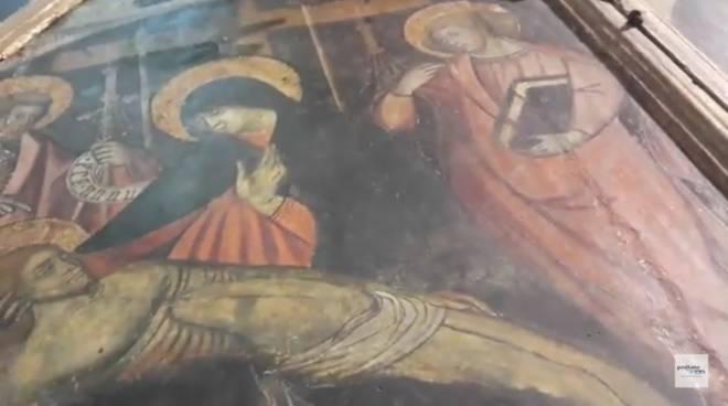 Amalfi frana Via Maestra dei Villagi