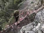 Sentiero degli Dei chiuso per ordinanza a Positano frana a Praiano