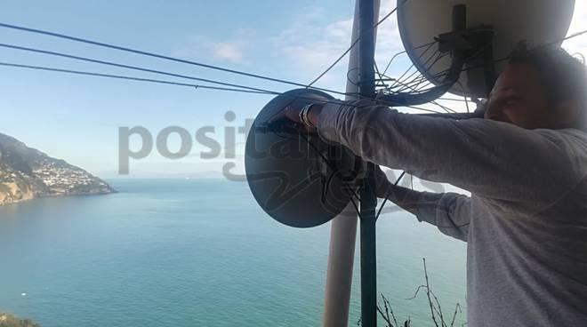 Connectivia a Positano