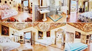 Positano la Villa con le opere d'arte trafugate