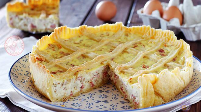 Pastiera Salata ricetta