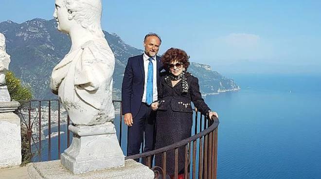 Gina Lollobrigida torna a Ravello