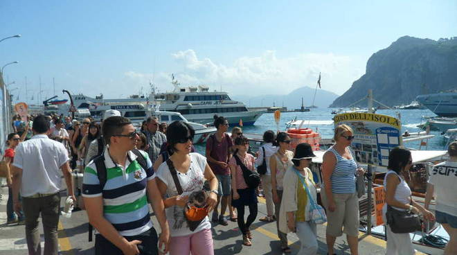 Maxiponte, Capri già sold-out