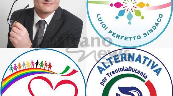 Amministrative Trentola Ducenta 2018, Luigi Perfetto ufficializza le tre liste a suo sostegno