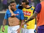 Fiorentina 3-0 Napoli. Fine di un sogno. Christian Mulier