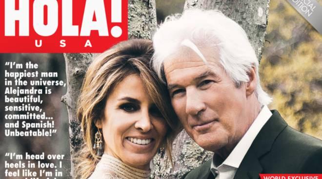 L'amore tra Richard Gere e Alejandra Silva nasce a Positano