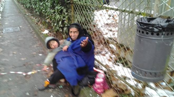 Mendicanti con bambini arrestati a Pompei