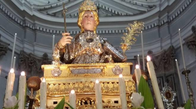 Minori. Il 9 giugno l'ostensione delle Sacre reliquie di santa Trofimena