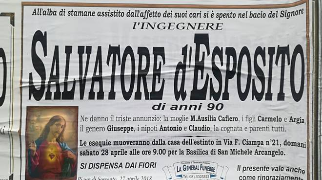 salvatore d'esposito piano di sorrento