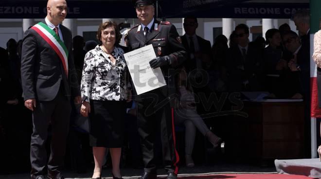 Consegna dell'onoreficenza di Cavaliere dell'Ordine al Merito della Repubblica a Tommaso Potenza
