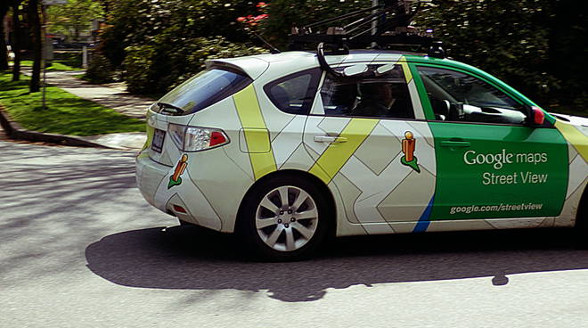 La Google Street View in costiera amalfitana