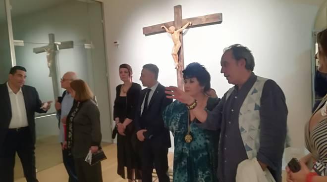 Sergio Buonocore Vico Equense  mostra Biennale di Cava de Tirreni