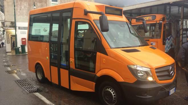 A Capri tornano i bus riservati ai residenti