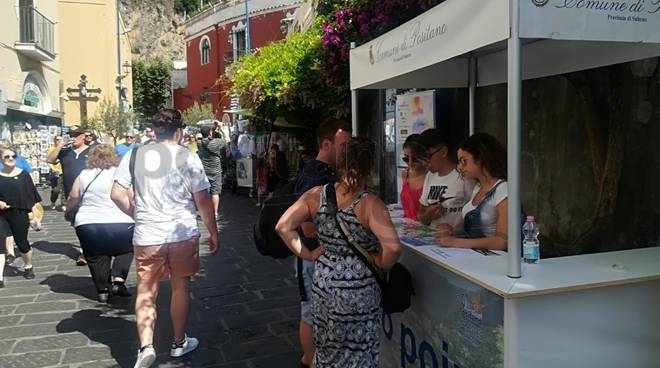 Infopoint a Positano