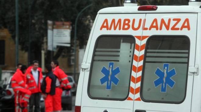 Ambulanza aggressione del 118