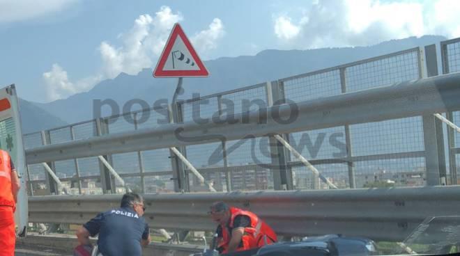 castellammare incidente a3 napoli-salerno