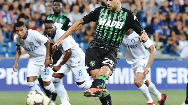 Il Sassuolo impone la sua legge  Berardi punisce l'Inter