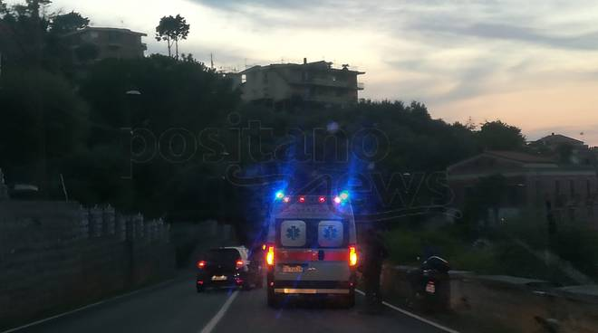 Piano di Sorrento incidente ai Colli di San Pietro