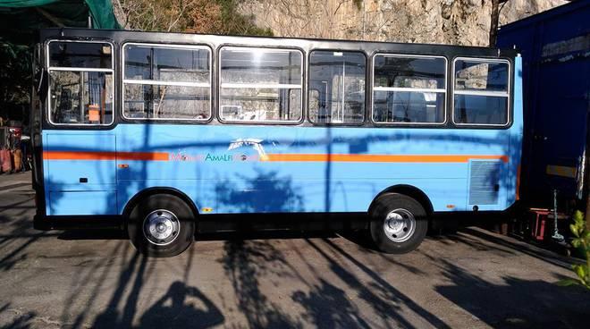 Positano servizio pubblico interno Mobility Amalfi Coast