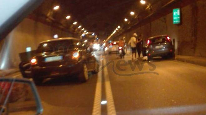 Vico Equense. Incidente tunnel di Seiano