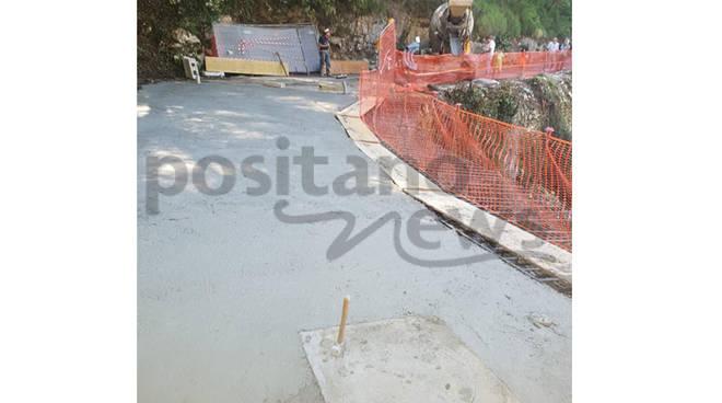 A Vico Equense proseguono i lavori al Ponte Margherita