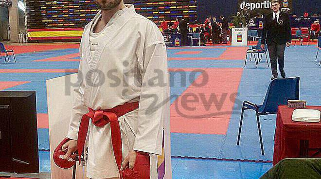 La NAMI KARATE DOJO  con SILVIO ESPOSITO  all' INTERNATIONAL TURIN CUP 2018
