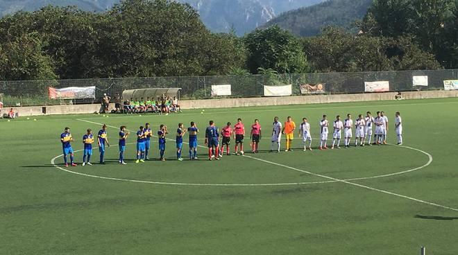 Costa d'Amalfi-Solofra, foto tratta dal diario del F.C. Sal De Riso Costa d'Amalfi Calcio