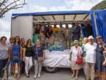 Consegna scultura piazza Thurnau e mezzo elettrico disabili