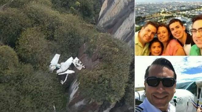 I familiari di un ingegnere del Cilento muoiono in un incidente aereo in Venezuela