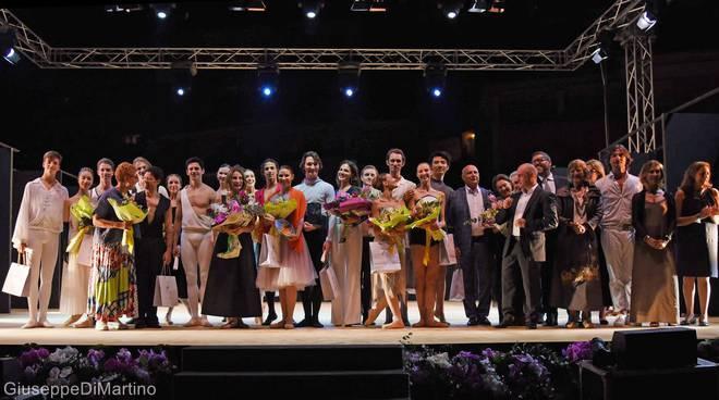 Positano Premio danza 2018 serata di gala