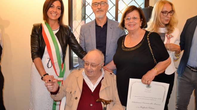 professore Francesco Talamo chiavi città di Campochiaro sindaco Simona Valente