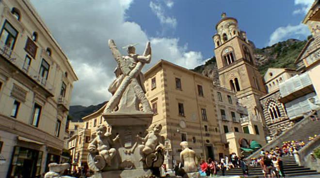 sant'andrea statua amalfi