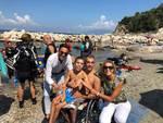 Sorrento. I giovani disabili del Liceo Grandi liberi di nuotare